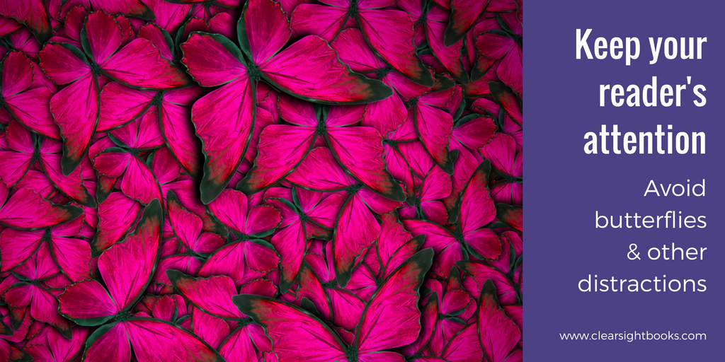 photo of many magenta butterflies