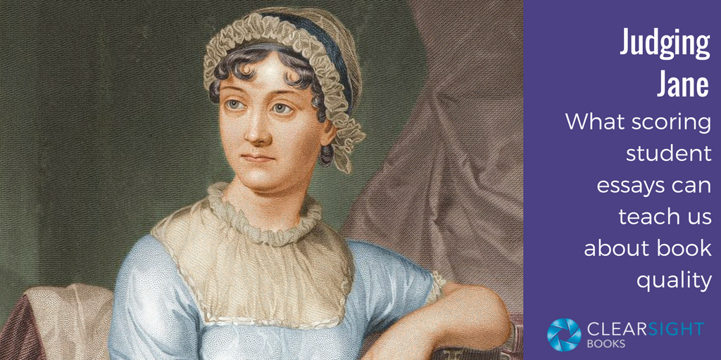 Judging Jane: What scoring student essays can teach us about book quality (image of Jane Austen)