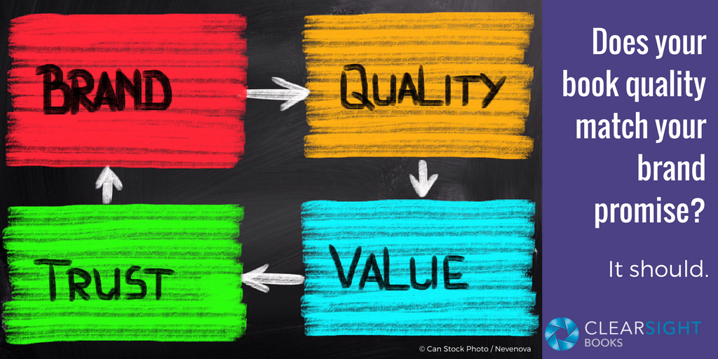 book quality strategy cycle of Brand, Quality, Value, Trust