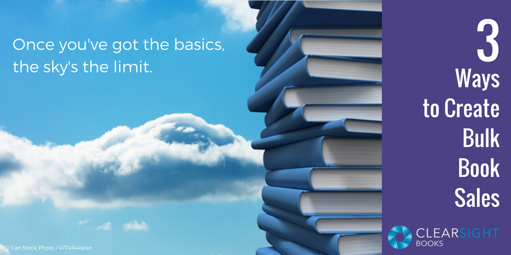 image of stack of books to the sky